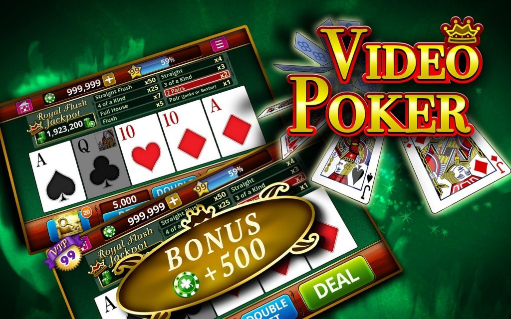 A Unique Online Bonus Video Poker Variant