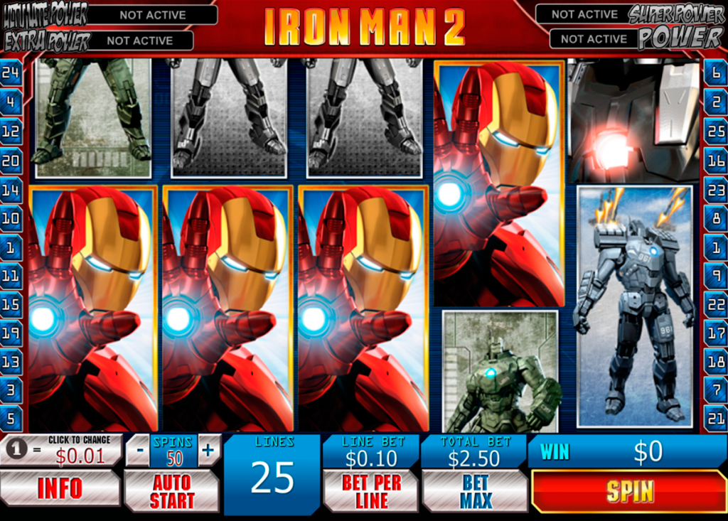 Iron Man 2 Slot Review